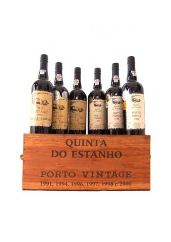 Quinta Do Estanho Case + 6 vintage ports (91/94/96/97/98/00)