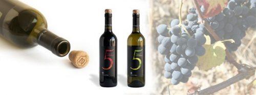 5 Estates, tinto - Vinho Regional - Alentejo 2013