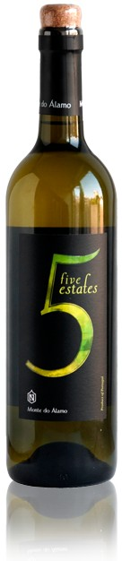 5 Estates, branco -Vinho Regional - Alentejo, 2014
