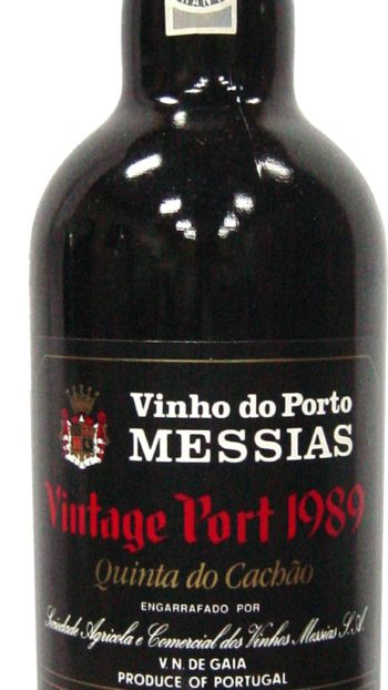 CAVES MESSIAS QUINTA DO CACHÃO VINTAGE 1989