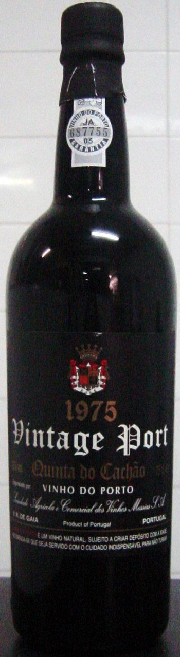 CAVES MESSIAS QUINTA DO CACHÃO VINTAGE 1975